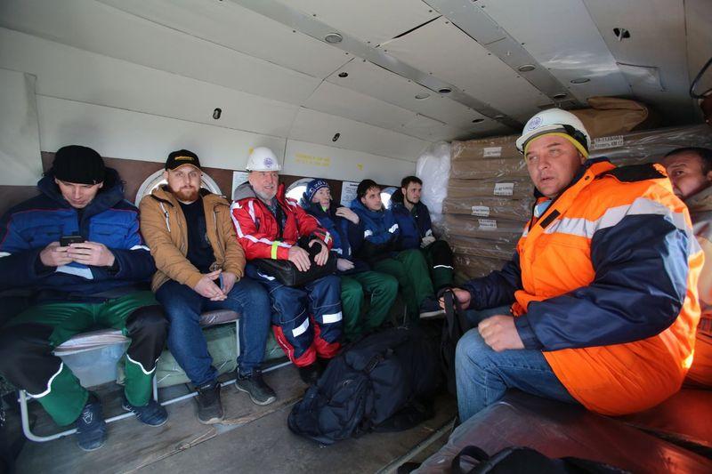 В Норильск прилетел отряд морской спасательной службы из Мурманска