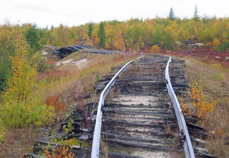 Заброшенную стройку железной дороги Норильск – Уренгой исследуют