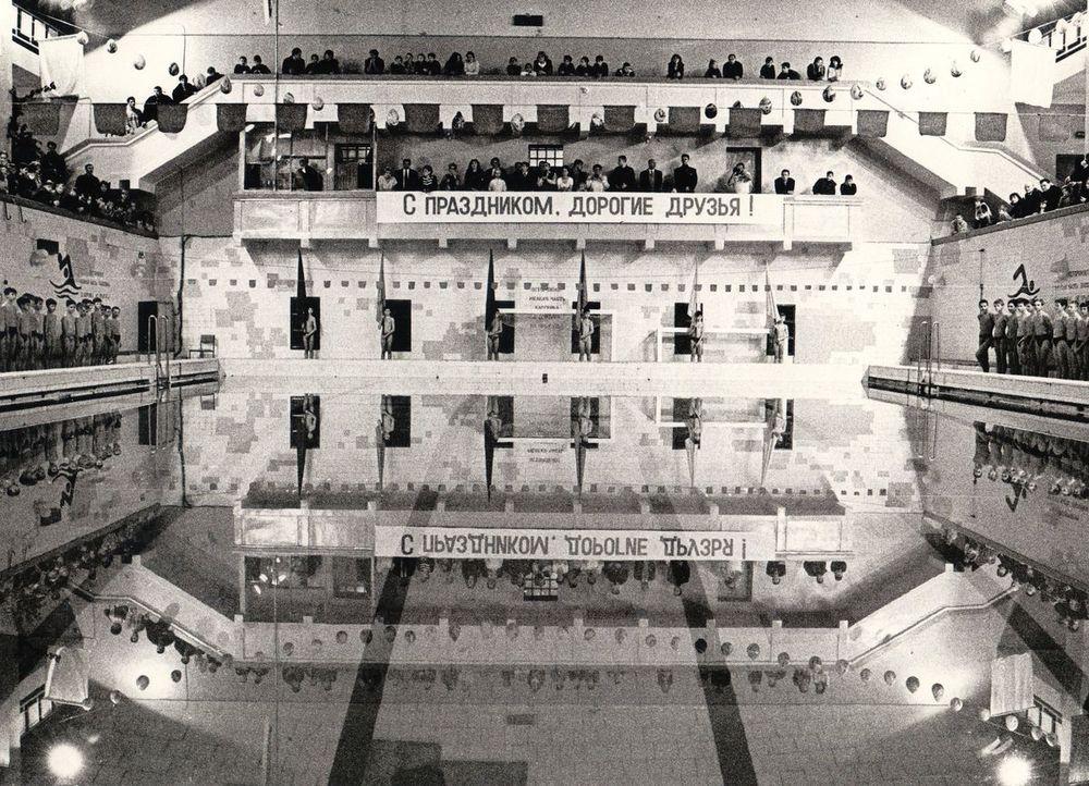 1999 год празднование 40-летия бассейна