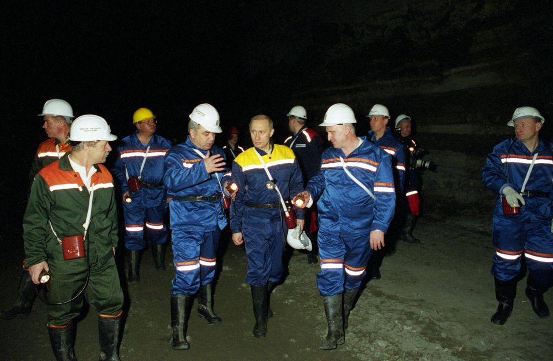 На третьем году президентского срока Владимир Путин побывал в Норильске