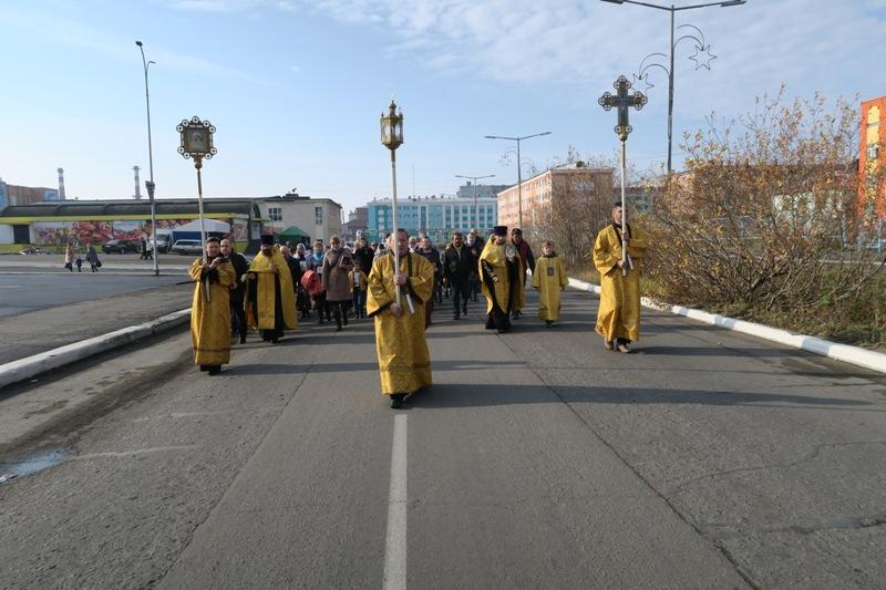 Ежегодный Крестный ход состоялся в Дудинке