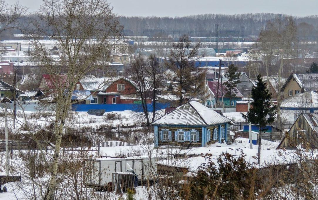 Поселок Плешки зимой