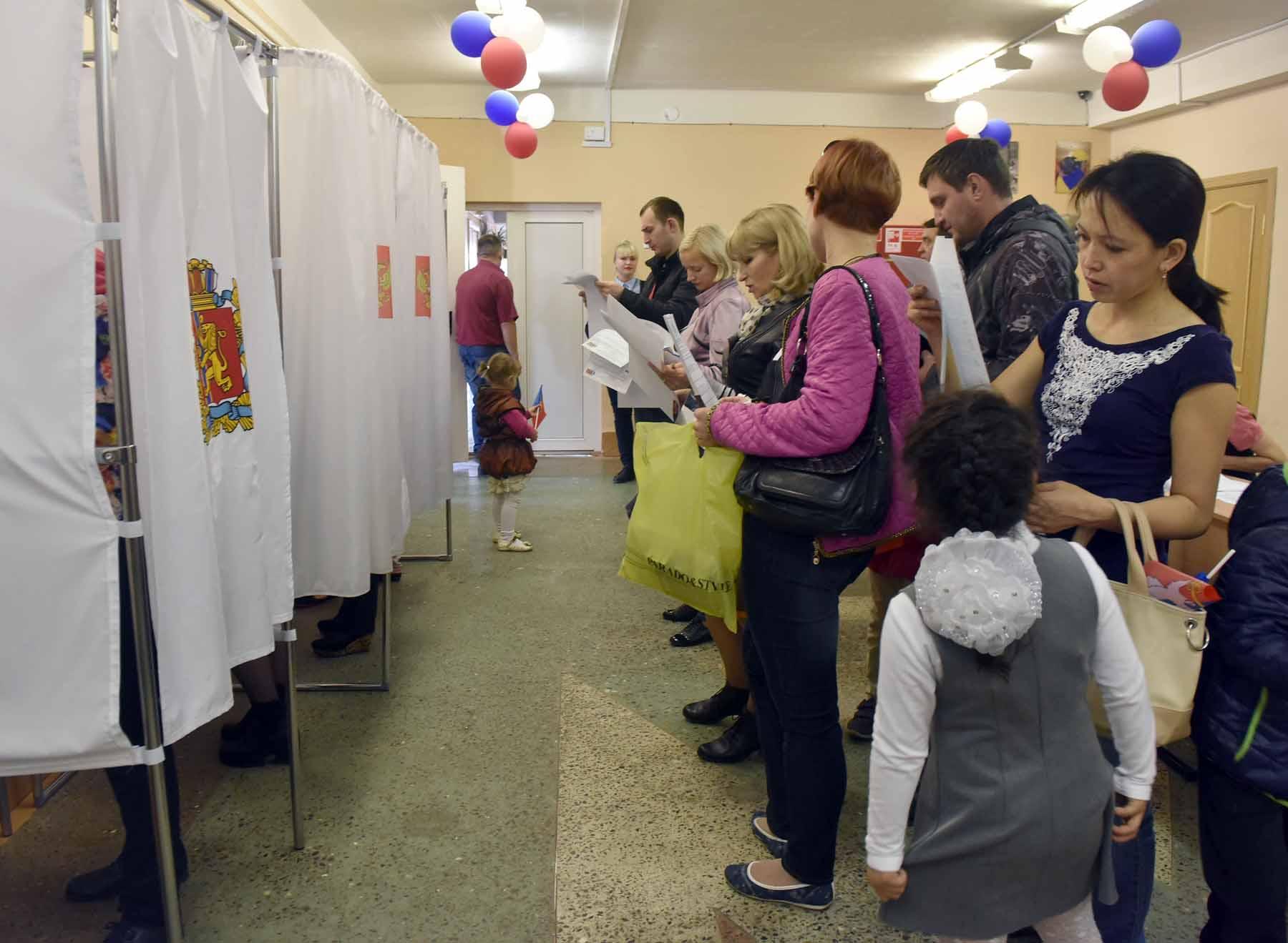 Явка на выборах 18 сентября в Норильске составила около 30%