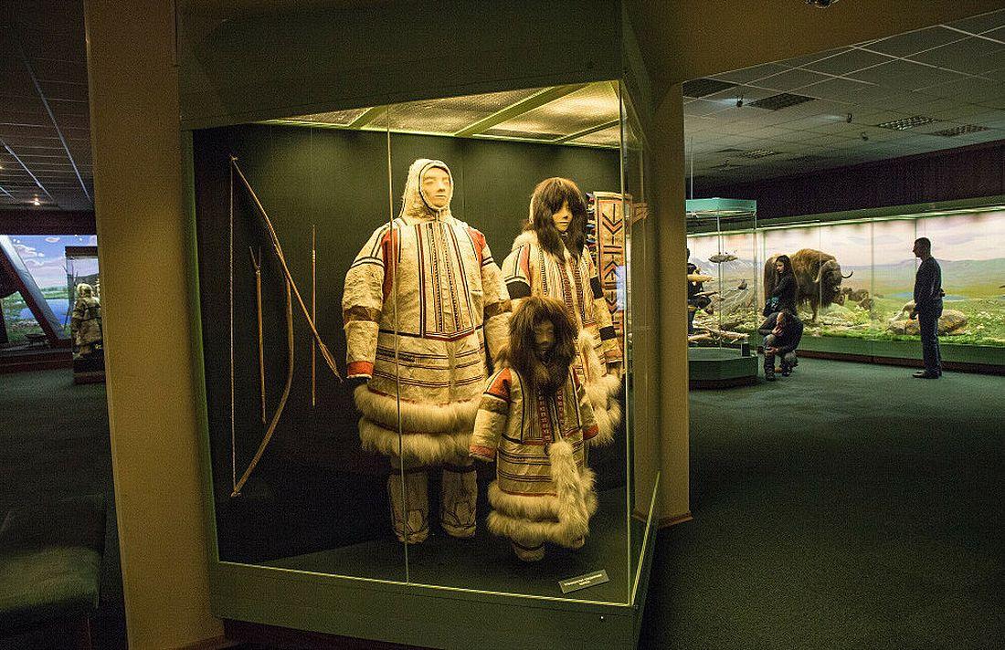 Зимняя одежда нганасан