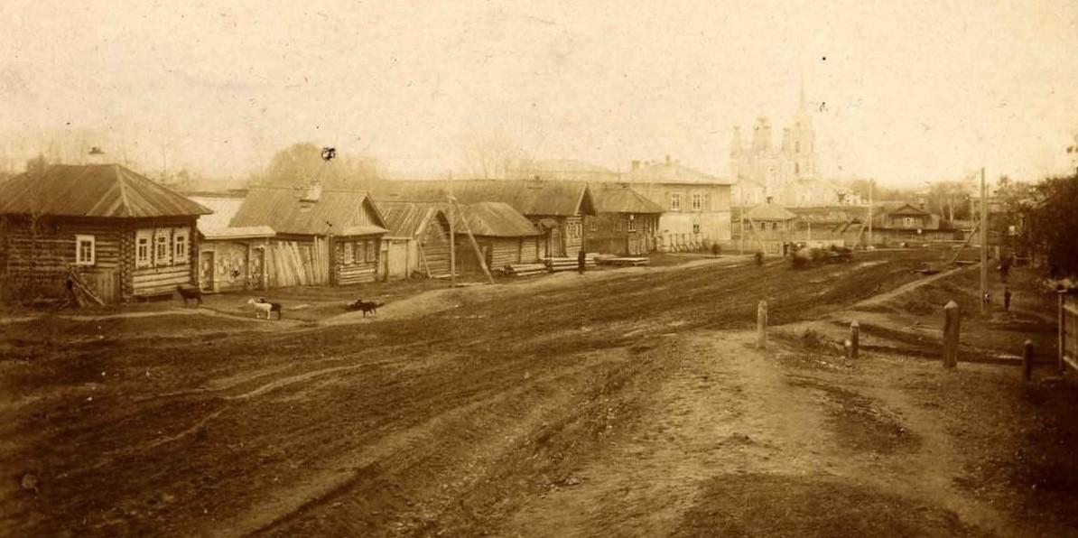Село Верхние Муллы Пермской губернии