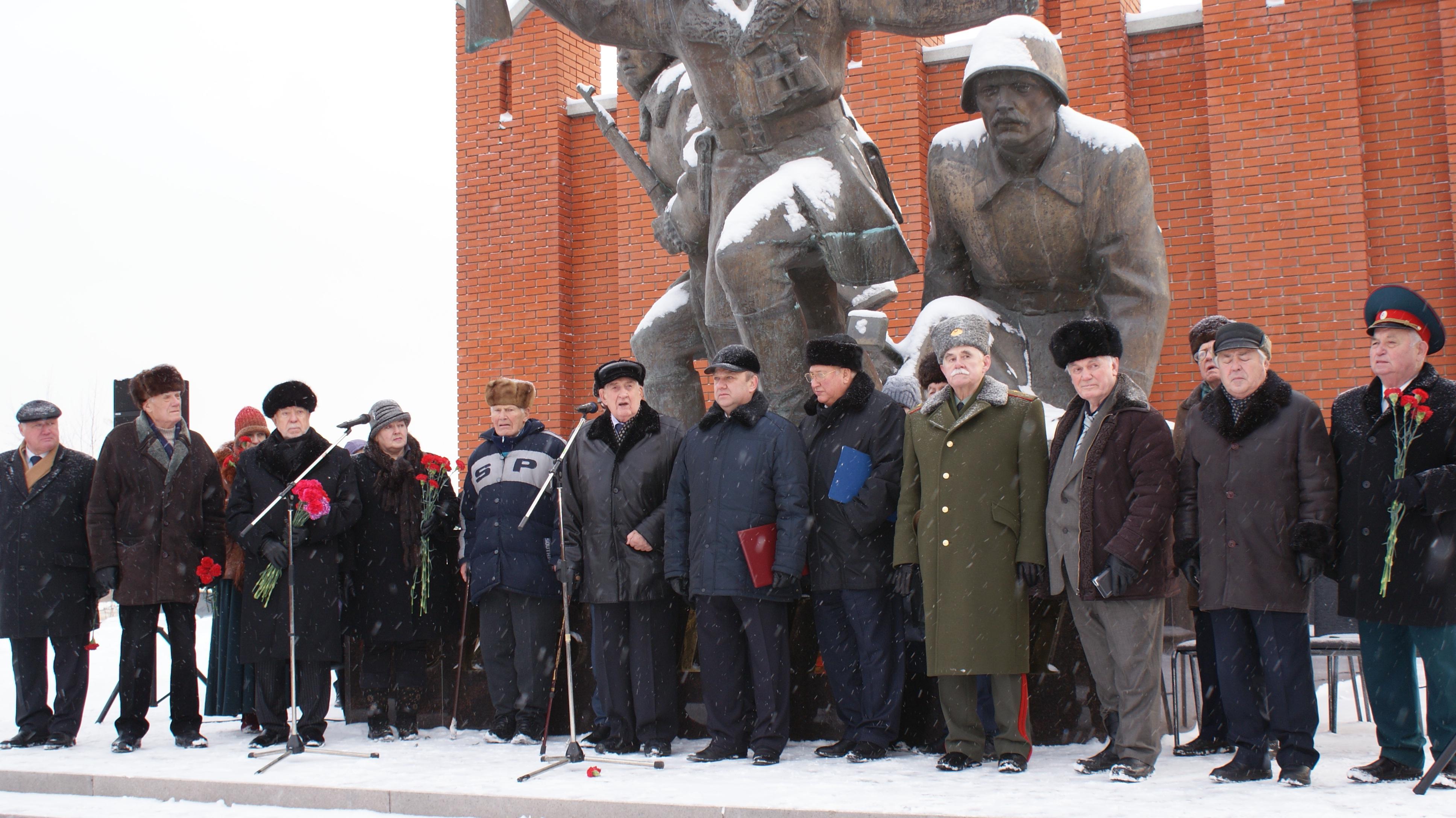 Память воинов-сибиряков почтили под Москвой