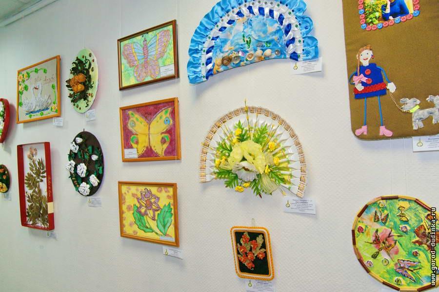 Выставка декоративного творчества