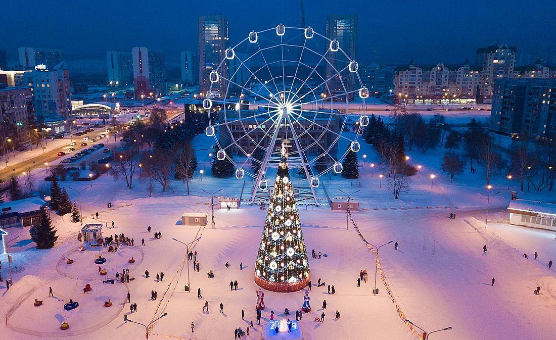 Площадь Торжеств в Новокузнецке