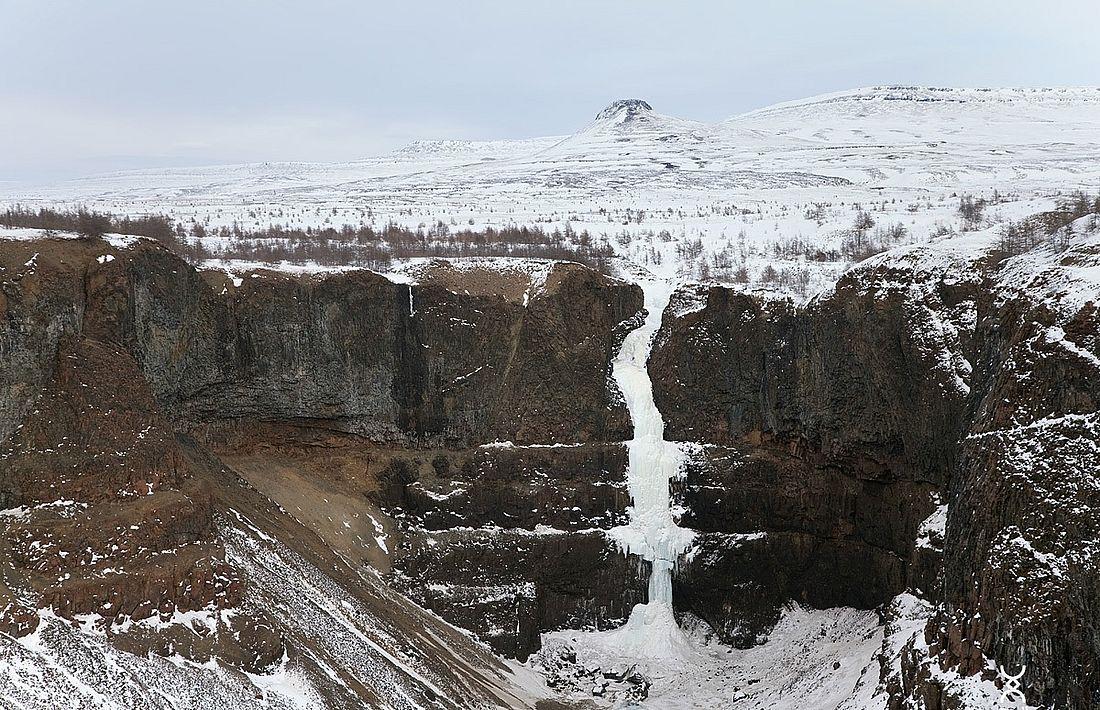 Кандинский водопад, 108 метров. Каньон реки Канда, плато Путорана, 2020 год