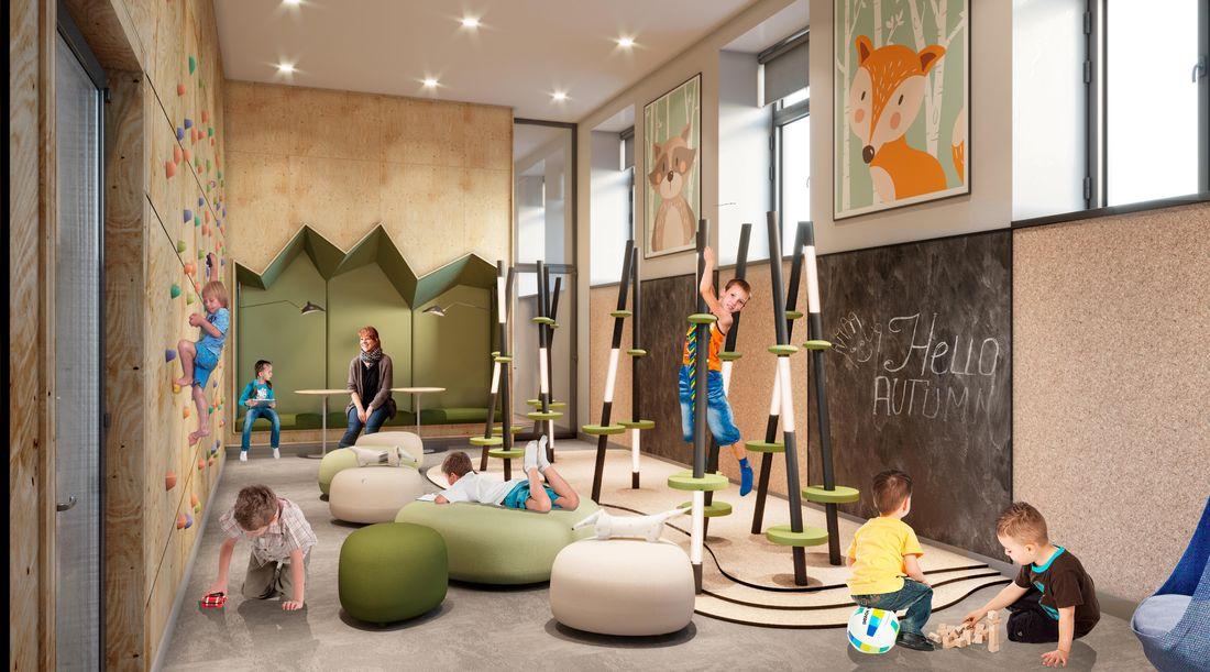 Визуализация детского центра