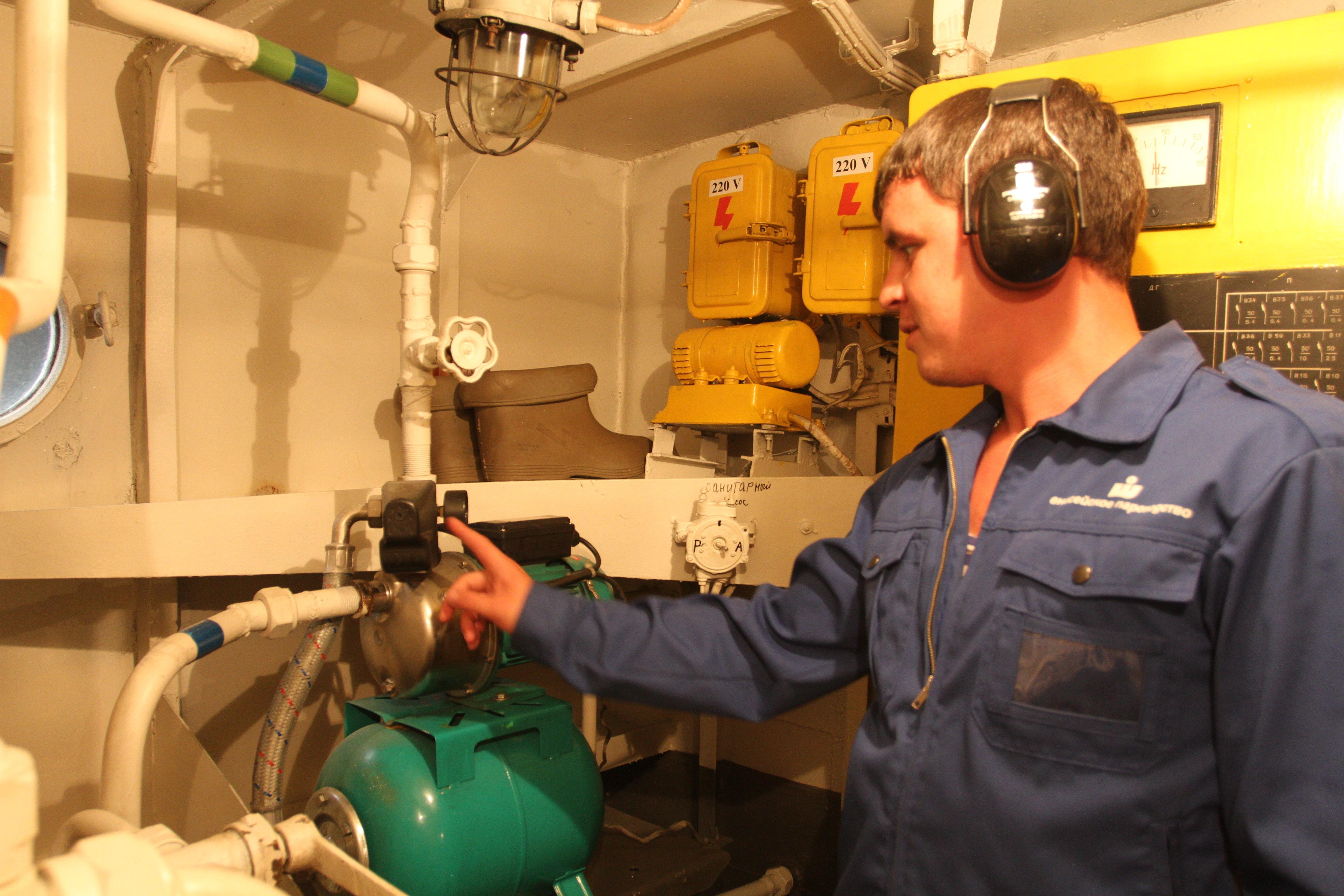 Енисейское пароходство инспектирует свой флот