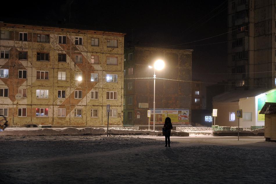 Полярная ночь заканчивается в Норильске