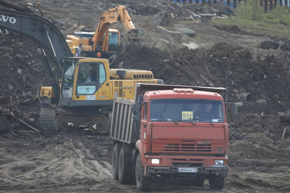 С территории ТЭЦ-3 вывезли порядка 100 тысяч тонн загрязненного грунта