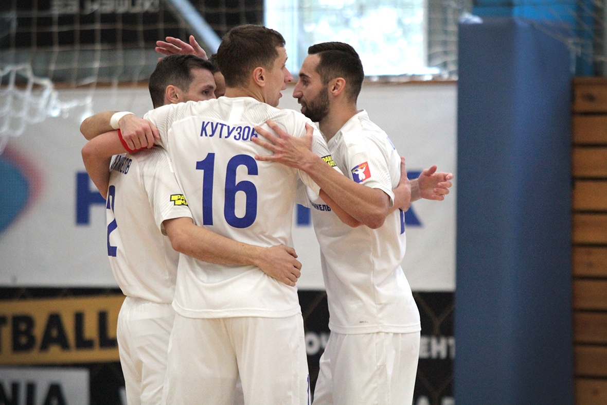 МФК «Норильский никель» победил в первом матче 1/4 финала Кубка России