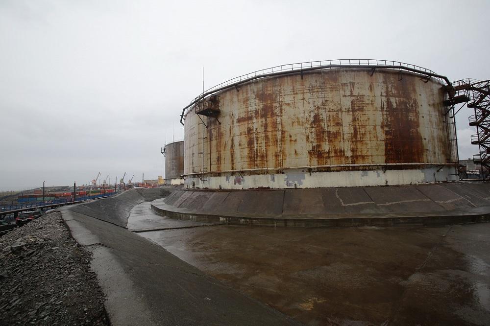 Резервуар на ТЭЦ-3