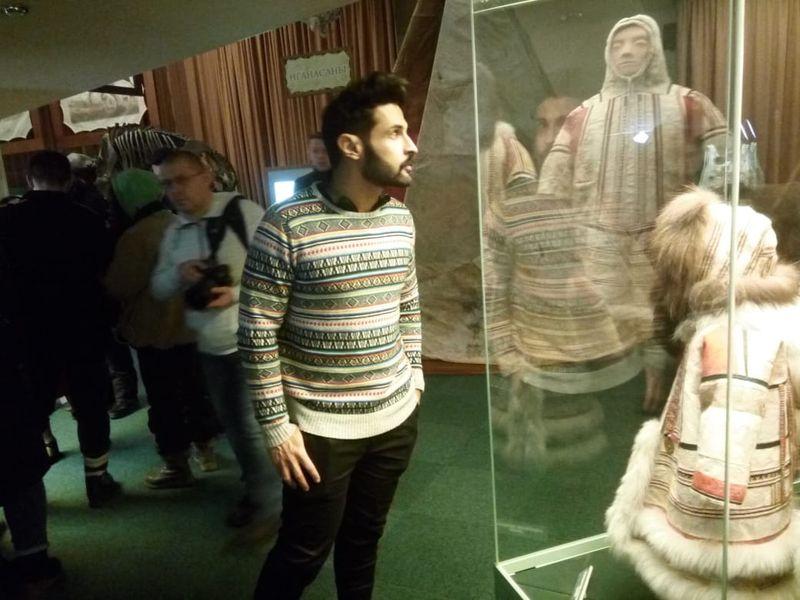 У путешественников была возможность не только рассмотреть одежду коренных народов Севера...