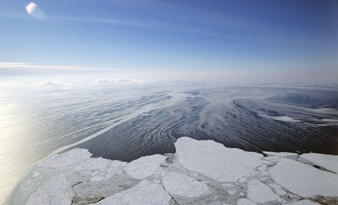 Берингово море – окраинное море Северного Ледовитого океана. Самое глубокое море России