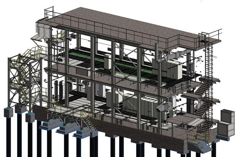 Технологию информационного моделирования применили на двух небольших объектах капстроя на Медном заводе