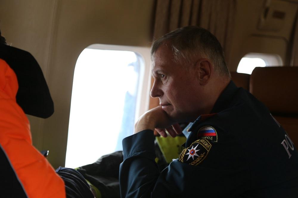 Министр МЧС России Евгений Зиничев