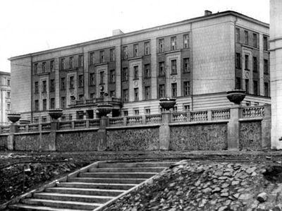 Школа №1, примерно 1950-е годы