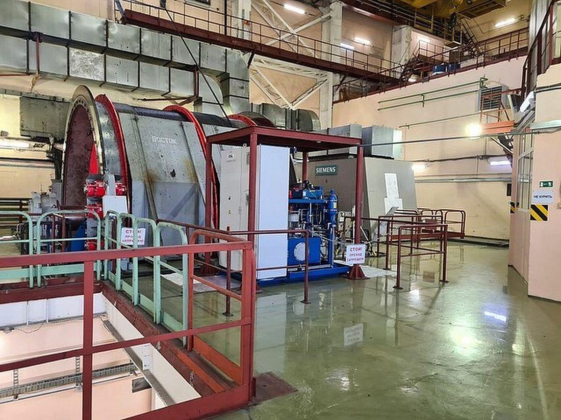 Рудник «Скалистый» представляет на конкурсе участок скипового подъема ВСС-1. Этот шахтный подъемный комплекс предназначен для выдачи руды и подачи свежего воздуха