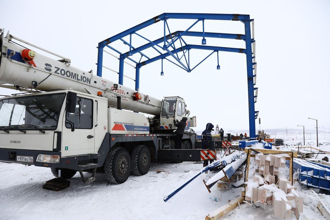 Новая весовая станция на Талнахской обогатительной фабрике вступит в строй во втором квартале