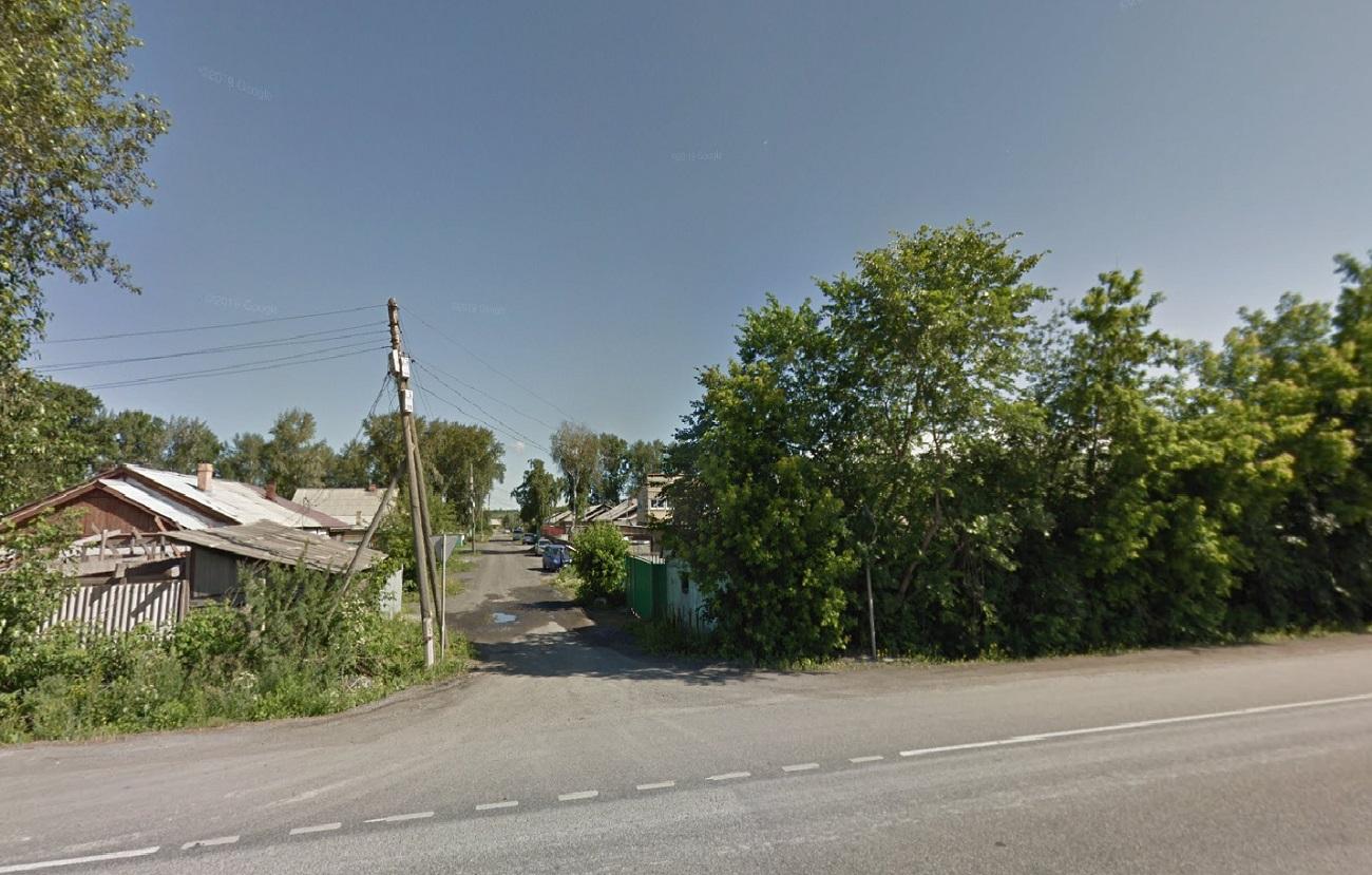 Здесь начинается улица Норильская в Ачинске