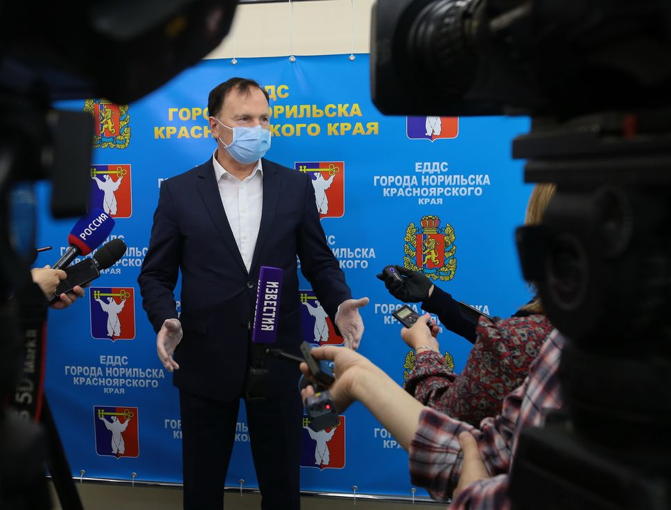 Заместитель председателя правительства Красноярского края Анатолий Цыкалов
