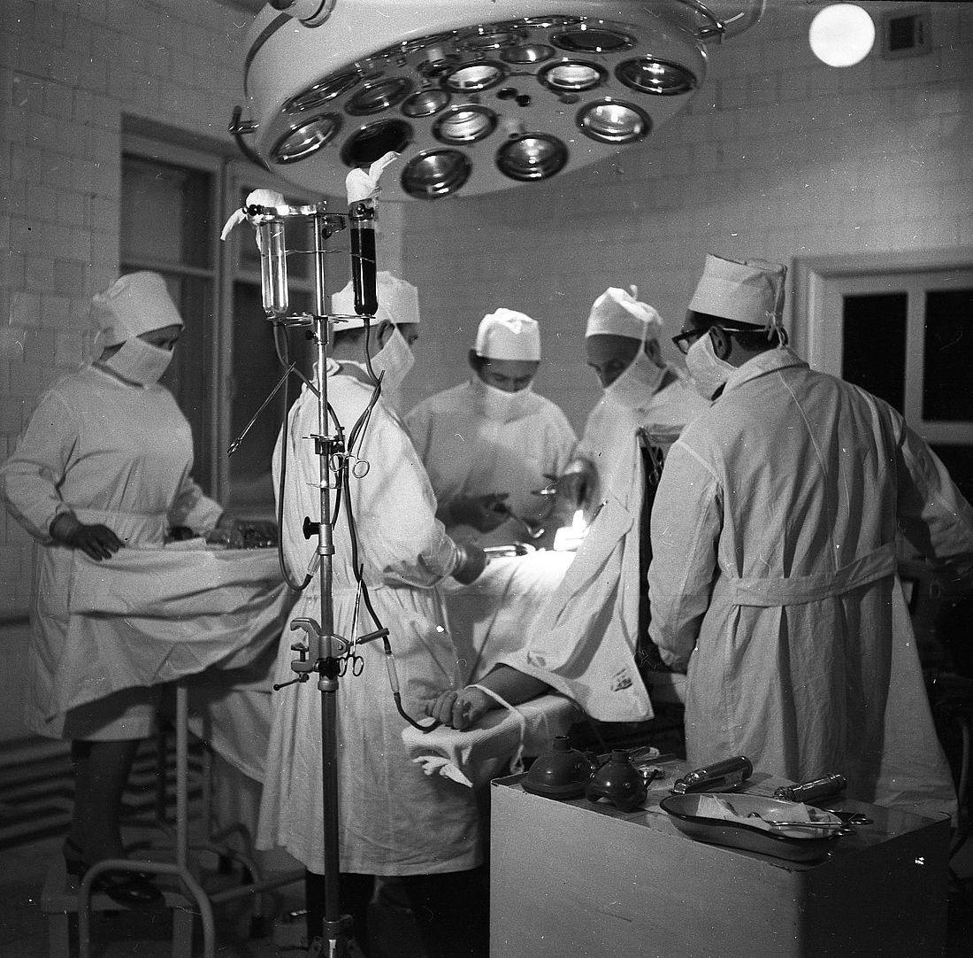 Хирургическое отделение, декабрь 1969 года