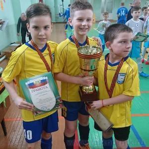 Подведены итоги турнира по мини-футболу среди норильских юношеских команд, посвященного Дню Победы