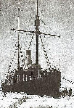 Ледокол «Вайгач», на котором Колчак через южные моря плавал в Арктику в 1909-1910 годах