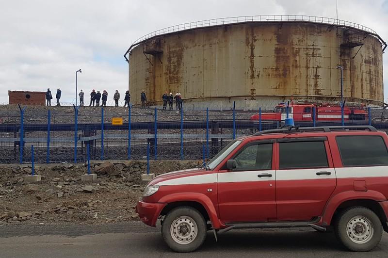 29 мая на ТЭЦ-3 в районе «Надежды» была повреждена цистерна с топливом