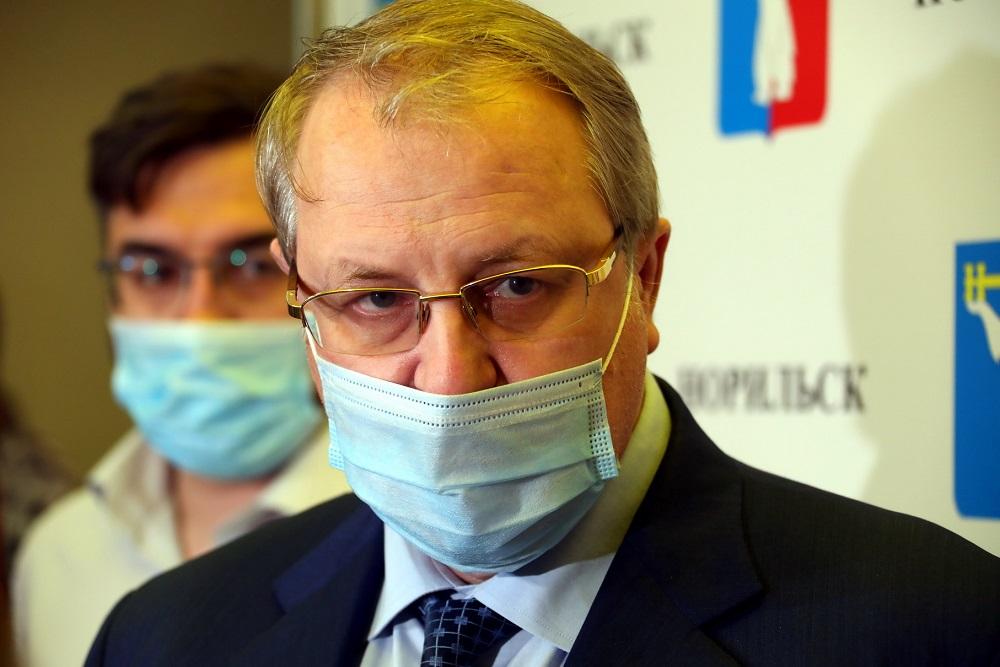 Первый вице-президент – операционный директор «Норникеля» Сергей Дяченко