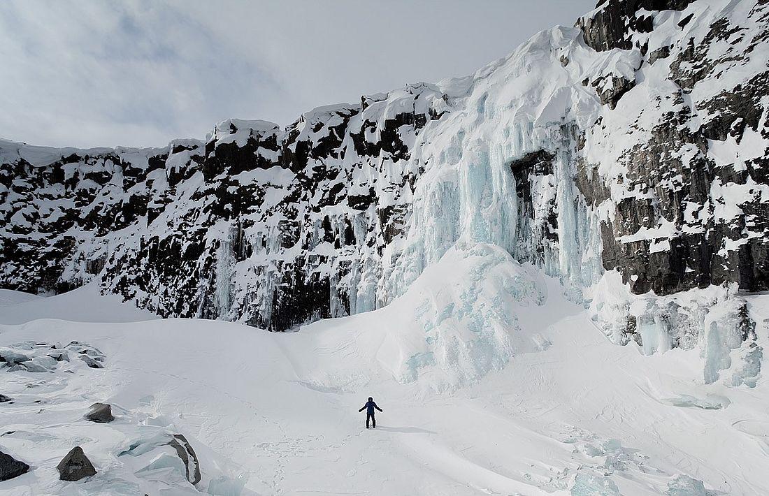 29-метровый водопад в верховьях реки Оран, 2020 год