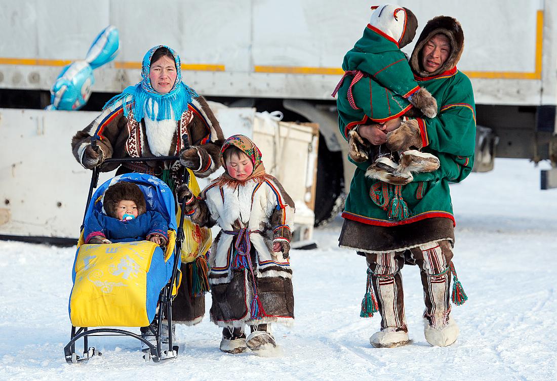 Ненцы – один из пяти коренных этносов Таймыра