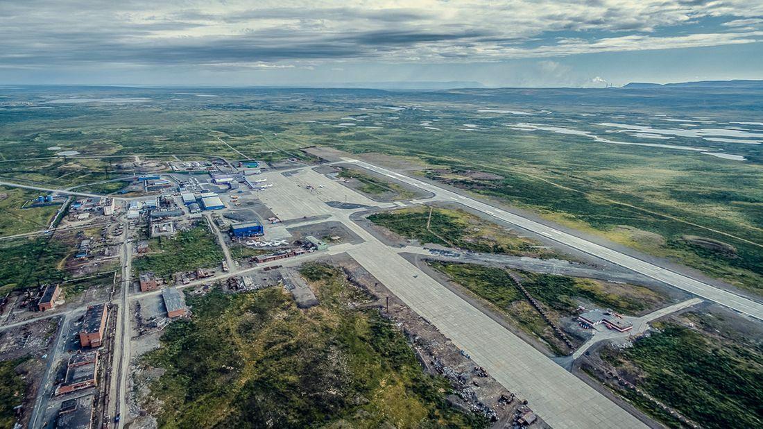 Реконструкция аэропорта Норильск, июль 2016 года