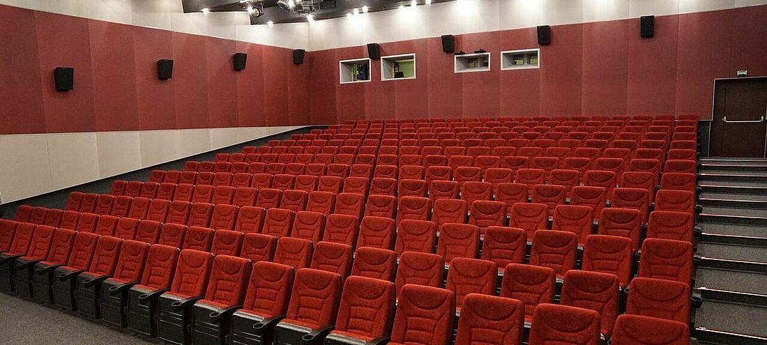 В большом зале кинодосугового центра «Арктика» 260 зрительских мест