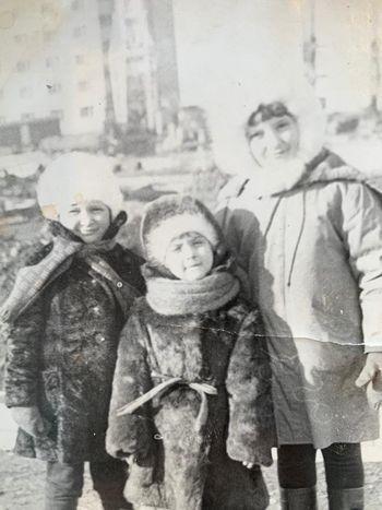 Прогулка. Норильск, 1979 год