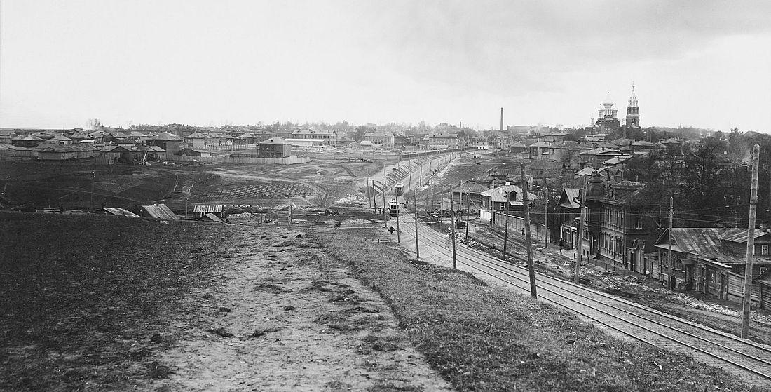 Улица Белинского, 1950-е годы