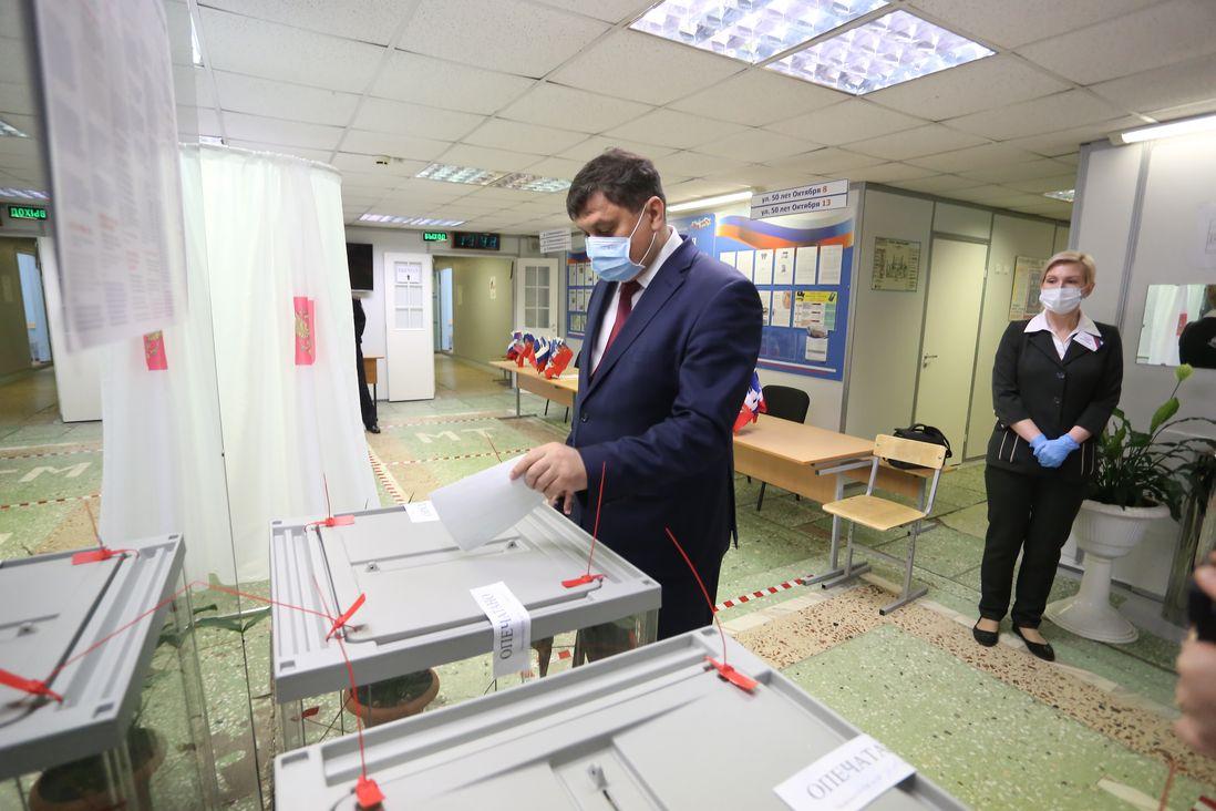 Мэр Норильска поблагодарил горожан за участие в голосовании по поправкам в Конституцию
