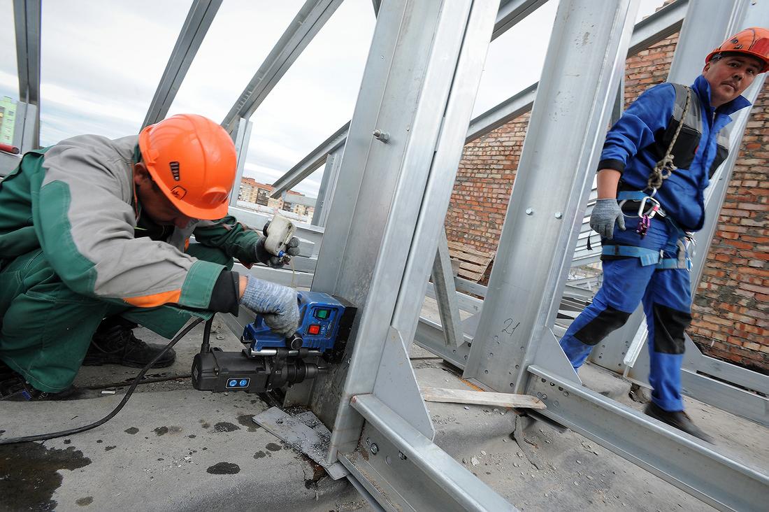Строительство домов для специалистов «Норникеля» вышло на финишную прямую