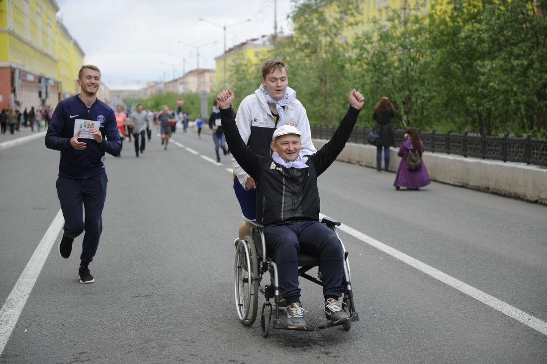 Участник забега-2019 Гарик Филиппов