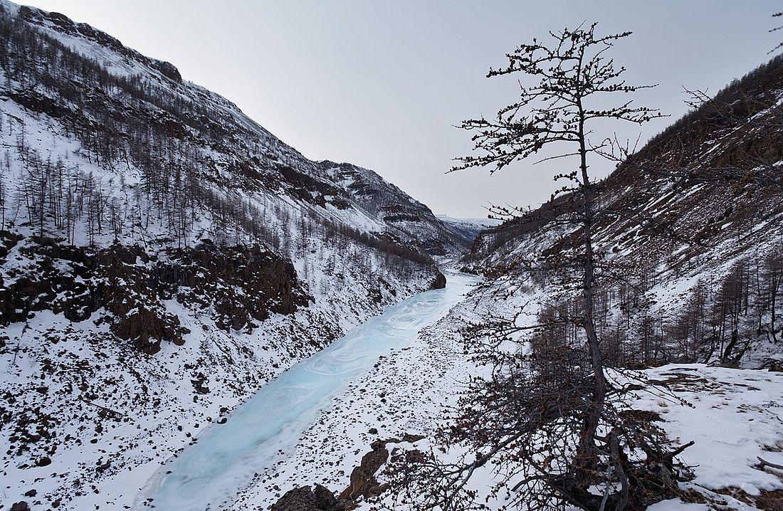 Река Хибарба, плато Путорана, 2020 год