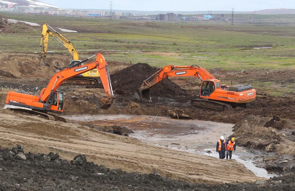 С территории ТЭЦ-3 вывезли более 92 тысяч тонн загрязненного грунта