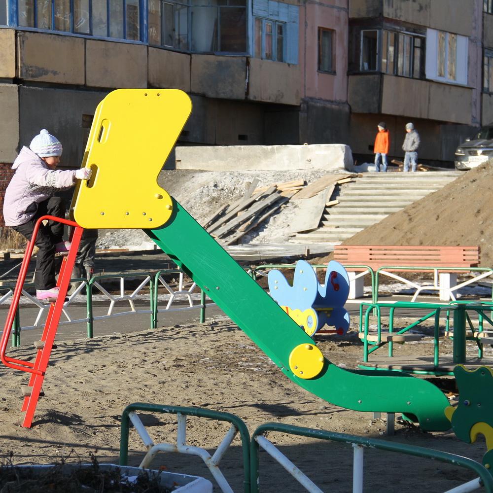 Инвентаризация детских площадок завершена в Норильске