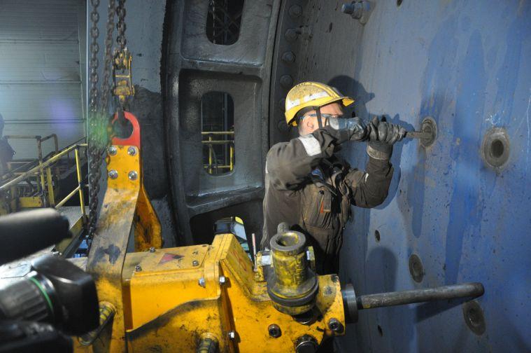 Талнахская обогатительная фабрика остановлена на плановые ремонтные работы