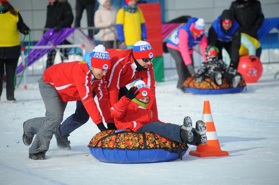 На базе «Оль-Гуль» прошли семейные старты пятой «Полярной олимпиады»