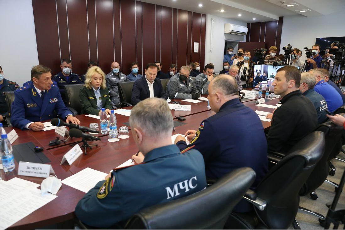 Выездное координационное совещание по вопросам ликвидации чрезвычайной ситуации