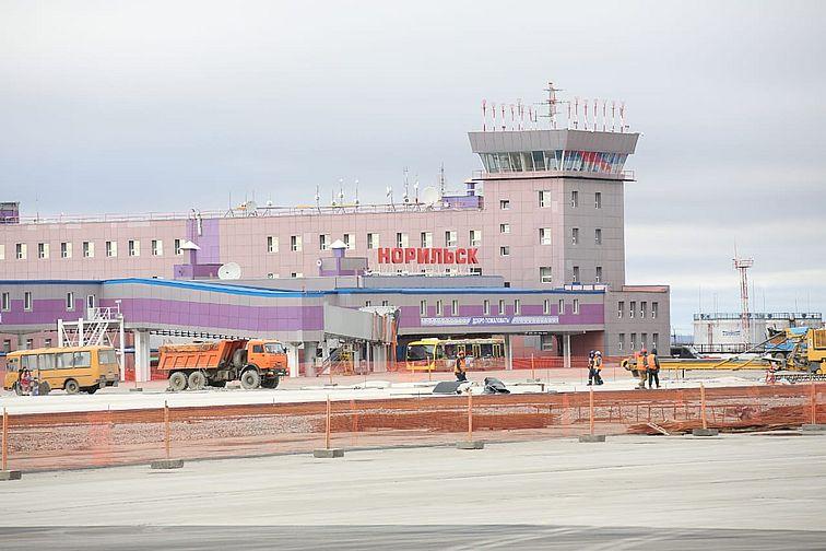 Завершается реконструкция взлетно-посадочной полосы в аэропорту Норильск