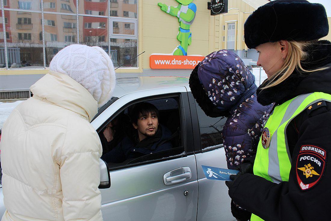 Автоинспекторы провели на дорогах Норильска акцию «Белая трость»